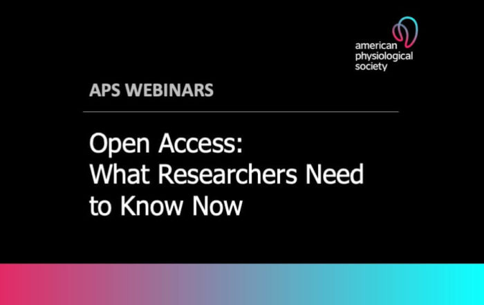 Open Access: What Researchers Need to Know Now