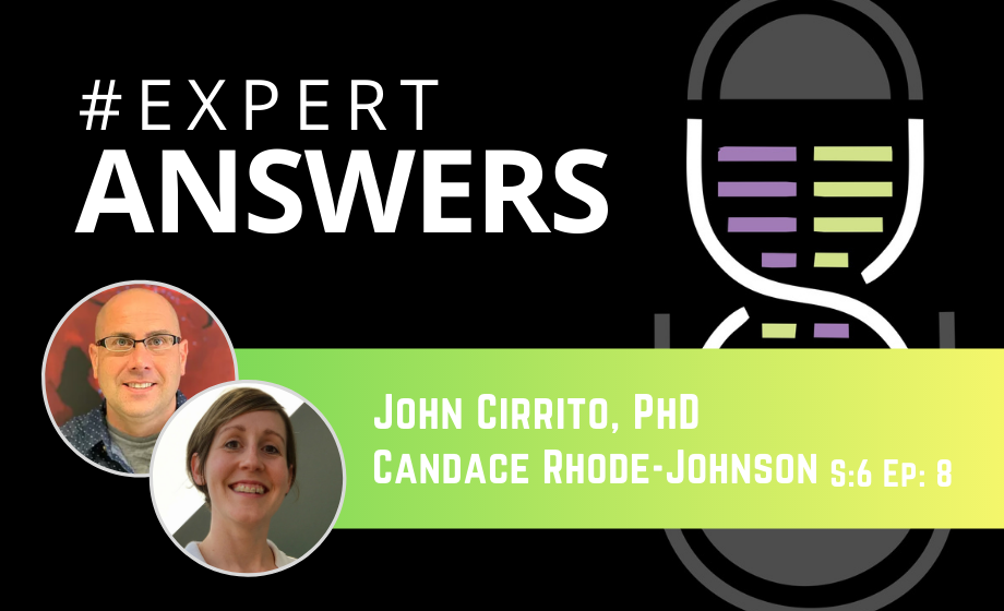 Expert Answers: John Cirrito & Candace Rhode-Johnson on Micro-dialysis and Neuroscience